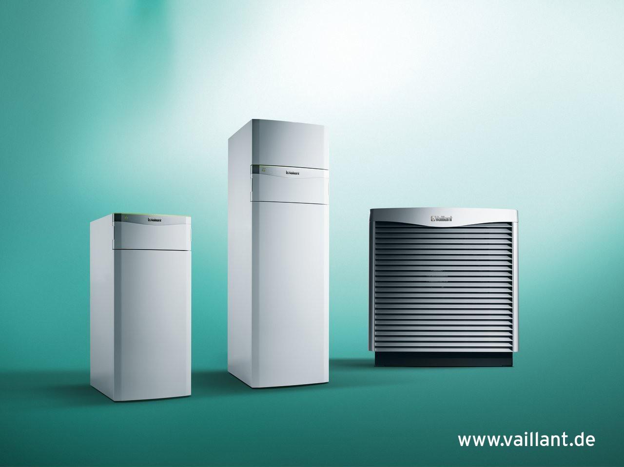 Vaillant VAILLANT Set 4.48 flexoCOMPACT VWF 118 /4 mit aroCOLLECT Luft/Wasser