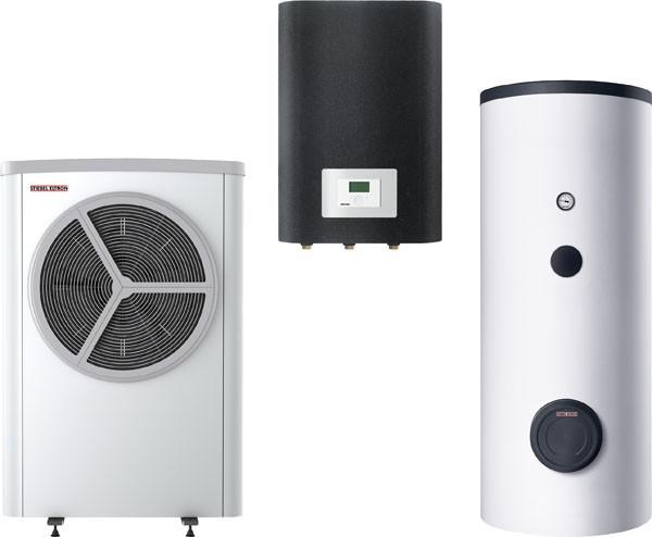 Stiebel Eltron STIEBEL ELTRON Luft / Wasser-Wärmepumpe WPL 12 S Trend Set 2
