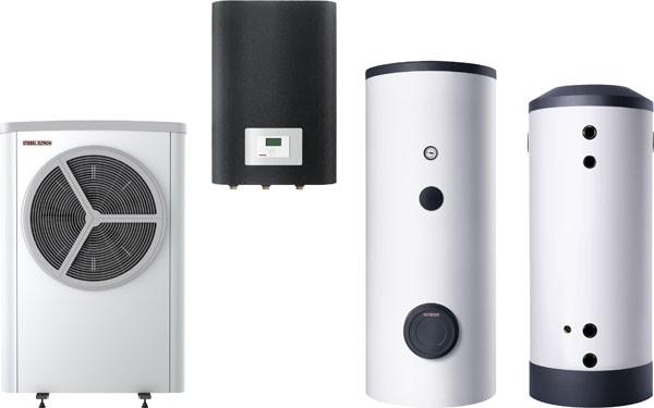Stiebel Eltron STIEBEL ELTRON Luft / Wasser-Wärmepumpe WPL 16 S Trend Set 3