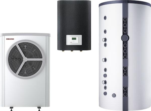 Stiebel Eltron STIEBEL ELTRON Luft / Wasser-Wärmepumpe WPL 12 S Trend Set 6